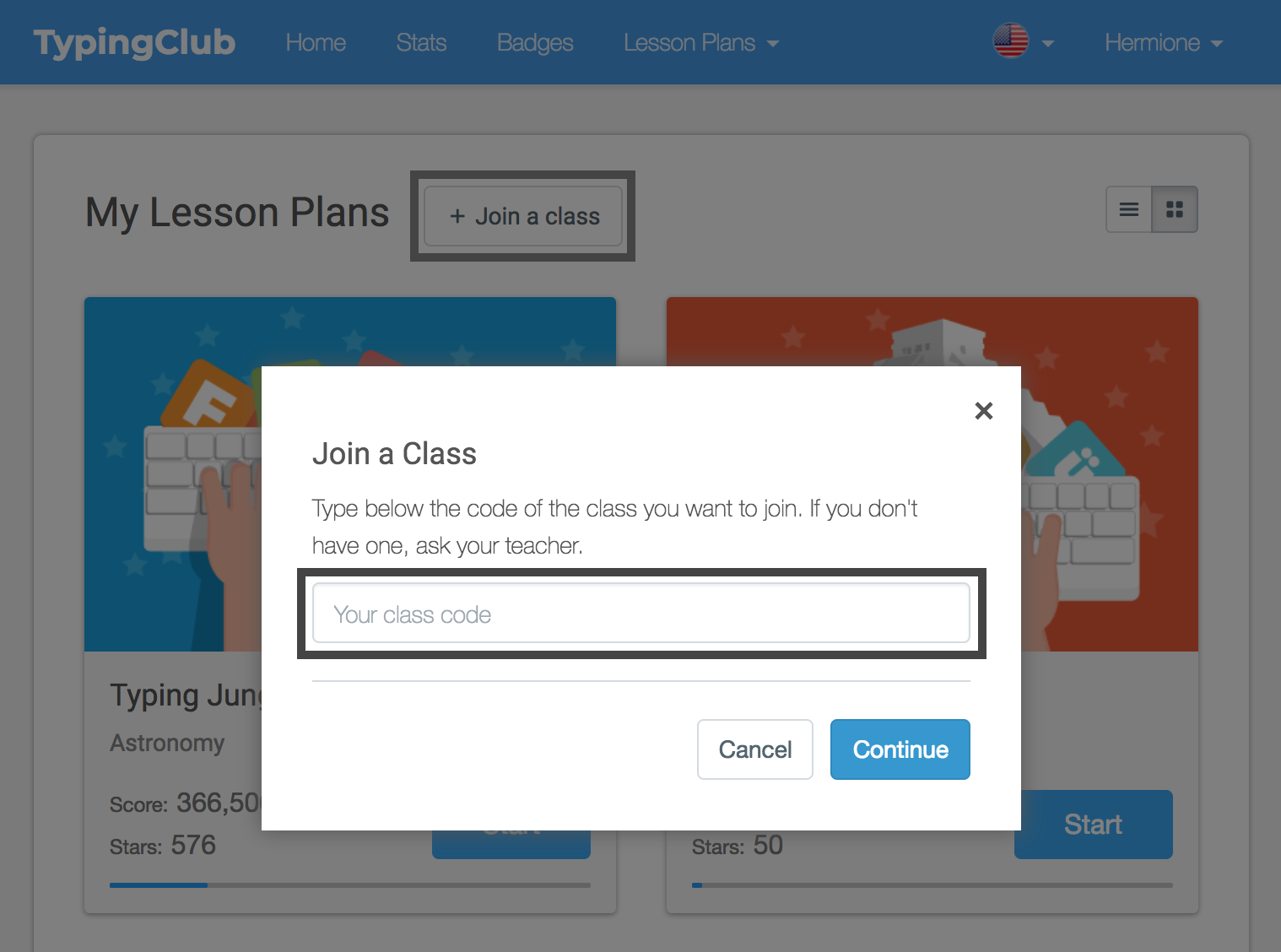From The Student Interface There Will Be A Join A Cloption On The Homepage Once Clicked The Student Will Be Able To Enter The Clcode In Order